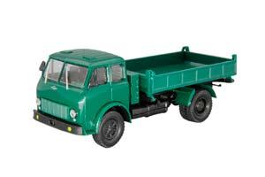 MAZ-511 SIDE DUMP TRUCK DARK GREEN (USSR RUSSIA)   МАЗ-511 САМОСВАЛ С БОКОВОЙ РАЗГРУЗКОЙ ТЕМНО-ЗЕЛЕНЫЙ