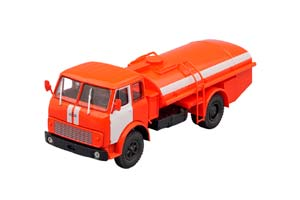 MAZ-5334 TZA-75 ON RED (USSR RUSSIA)   МАЗ-5334 ТЗА-75 ПО КРАСНЫЙ
