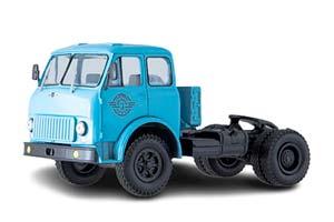 MAZ-504 1963 BLUE TRACTOR TRACTOR (USSR RUSSIA) | МАЗ-504 СЕДЕЛЬНЫЙ ТЯГАЧ 1963 ГОЛУБОЙ *МАЗ