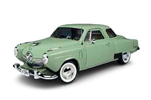 STUDEBAKER CHAMPION STARLIGHT COUPE 1951 LITE GREEN *СТУДЕБЕКЕР