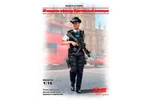 MODEL KIT FIGURE. BRITISH POLICE OFFICER | ФИГУРА. ОФИЦЕР БРИТАНСКОЙ ПОЛИЦИИ *СБОРНАЯ МОДЕЛЬ