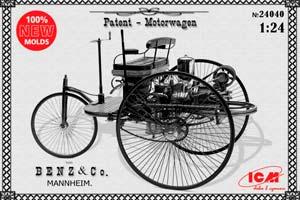 MODEL KIT CAR BENZ 1886   АВТОМОБИЛЬ БЕНЦА 1886 Г *СБОРНАЯ МОДЕЛЬ