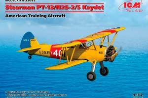 MODEL KIT STEARMAN PT-13 / N2S-5 KAYDET AMERICAN TRAINING AIRCRAFT | АМЕРИКАНСКИЙ УЧЕБНЫЙ САМОЛЁТ STEARMAN PT-13/N2S-5 KAYDET *СБОРНАЯ МОДЕЛЬ