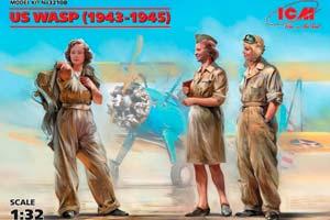 MODEL KIT US WASP (1943-1945) | US WASP (1943-1945) *СБОРНАЯ МОДЕЛЬ