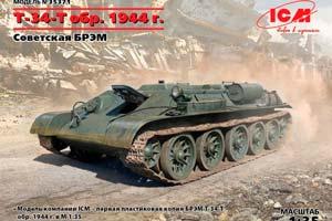 "MODEL KIT T-34 ""TYAGACH"" MODEL 1944 | T-34 ""TYAGACH"" MODEL 1944 *СБОРНАЯ МОДЕЛЬ"