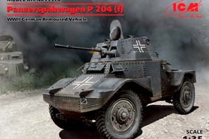 MODEL KIT PANZERSPAHWAGEN P204 (F) *СБОРНАЯ МОДЕЛЬ