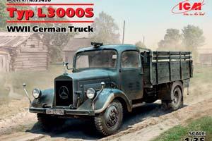 MODEL KIT TYP L3000S GERMAN TRUCK II MB | TYP L3000S ГЕРМАНСКИЙ ГРУЗОВОЙ АВТОМОБИЛЬ ІІ МВ *СБОРНАЯ МОДЕЛЬ