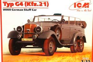 MODEL KIT TYP G4 (KFZ.21) GERMAN STAFF CAR II MB | TYP G4 (KFZ.21) ГЕРМАНСКИЙ ШТАБНОЙ АВТОМОБИЛЬ ІІ МВ
