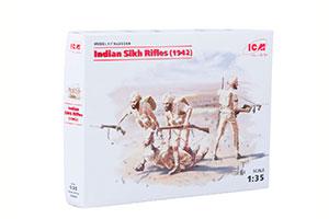 MODEL KIT INDIAN SIKH HANDS (1942) | ИНДИЙСКИЕ СИКХСКИЕ СТРЕЛКИ (1942 Г.) *СБОРНАЯ МОДЕЛЬ