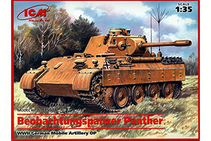 MODEL KIT BEOBACHTUNGSPANZER PANTHER GERMAN MOBILE TANK ANP II MV | BEOBACHTUNGSPANZER PANTHER ГЕРМАНСКИЙ ПОДВИЖНЫЙ ТАНК АНП II МВ *СБОРНАЯ МОДЕЛЬ