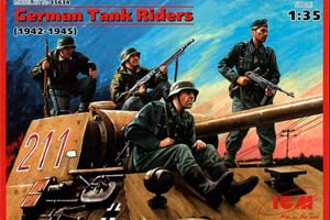 MODEL KIT GERMAN TANK LANDING (1942-1945)   ГЕРМАНСКИЙ ТАНКОВЫЙ ДЕСАНТ (1942-1945)