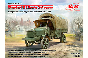 MODEL KIT STANDARD B 'LIBERTY' SERIES 2 WWI US ARMY TRUCK | STANDARD B 'LIBERTY' SERIES 2 WWI US ARMY TRUCK *СБОРНАЯ МОДЕЛЬ