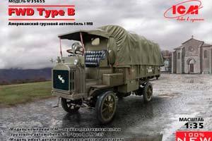 MODEL KIT FWD TYPE B TRUCK US ARMY IMB | FWD TYPE B ГРУЗОВИК АРМИИ США IMB *СБОРНАЯ МОДЕЛЬ