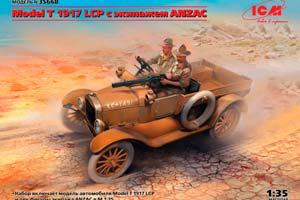 MODEL KIT MODEL T 1917 LCP WITH ANZAC CREW | MODEL T 1917 LCP С ЭКИПАЖЕМ ANZAC *СБОРНАЯ МОДЕЛЬ