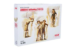 MODEL KIT ANZAC INFANTRY 1915 | ANZAC INFANTRY 1915