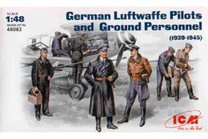 MODEL KIT GERMAN PILOTS AND LUFTWAFFE TECHNICIANS | НЕМЕЦКИЕ ПИЛОТЫ И ТЕХНИКИ ЛЮФТВАФФЕ *СБОРНАЯ МОДЕЛЬ
