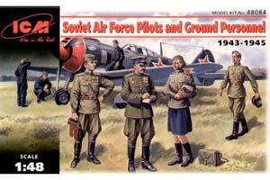 MODEL KIT PILOTS AND TECHNOLOGIES of the USSR Air Force (1943-1945) | ПИЛОТЫ И ТЕХНИКИ ВВС СССР (1943-1945 Г.) *СБОРНАЯ МОДЕЛЬ