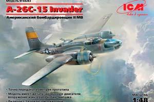 MODEL KIT A-26С-15 INVADER | A-26С-15 INVADER *СБОРНАЯ МОДЕЛЬ