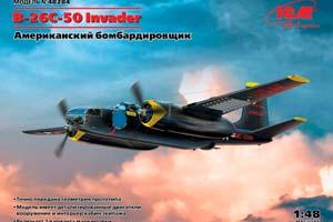 MODEL KIT DOUGLAS B-26С-50 INVADER | DOUGLAS B-26С-50 INVADER *СБОРНАЯ МОДЕЛЬ