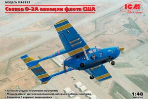 MODEL KIT CESSNA O-2A US FLEET | CESSNA O-2A АВИАЦИИ ФЛОТА США *СБОРНАЯ МОДЕЛЬ