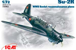 MODEL KIT SU-2 R SOVIET SCOUT AIRCRAFT   СУ-2 Р СОВЕТСКИЙ САМОЛЕТ- РАЗВЕДЧИК *СБОРНАЯ МОДЕЛЬ