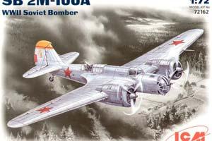 MODEL KIT SOVIET WORLD WAR II BOMBER SB 2M-100A | СОВЕТСКИЙ БОМБАРДИРОВЩИК ВТОРОЙ МИРОВОЙ ВОЙНЫ СБ 2М-100A