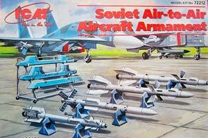 MODEL KIT SOVIET AIR-AIR ARMS | СОВЕТСКОЕ АВИАЦИОННОЕ ВООРУЖЕНИЕ