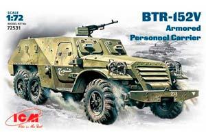 MODEL KIT BTR -152V | БТР -152В *СБОРНАЯ МОДЕЛЬ