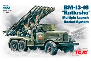MODEL KIT CARGO TRUCK BM-13-16