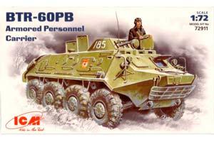 MODEL KIT BTR-60PB | БТР-60ПБ *СБОРНАЯ МОДЕЛЬ
