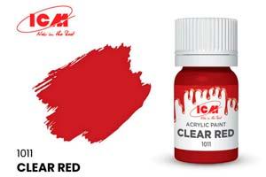 MODEL KIT CREATIVE PAINT 12 ML CLEAR RED | КРАСКА ДЛЯ ТВОРЧЕСТВА 12 МЛ ЦВЕТ ЯСНЫЙ КРАСНЫЙ(CLEAR RED) *СБОРНАЯ МОДЕЛЬ