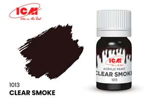 MODEL KIT PAINT FOR CREATIVITY 12 ML CLEAR SMOKE | КРАСКА ДЛЯ ТВОРЧЕСТВА 12 МЛ ЦВЕТ ПРОЗРАЧНЫЙ ДЫМ(CLEAR SMOKE) *СБОРНАЯ МОДЕЛЬ