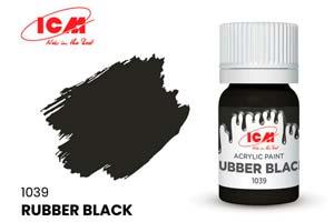MODEL KIT PAINT FOR CREATIVITY RUBBER BLACK | КРАСКА ДЛЯ ТВОРЧЕСТВА РЕЗИНА ЧЕРНАЯ (RUBBER BLACK)