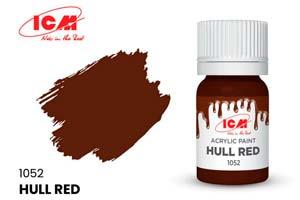 MODEL KIT CREATIVE PAINT HULL RED | КРАСКА ДЛЯ ТВОРЧЕСТВА КРАСНО-КОРИЧНЕВЫЙ (HULL RED)