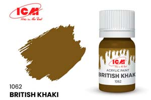 MODEL KIT PAINT FOR CREATIVITY BRITISH KHAKI | КРАСКА ДЛЯ ТВОРЧЕСТВА БРИТАНСКИЙ ХАКИ (BRITISH KHAKI)