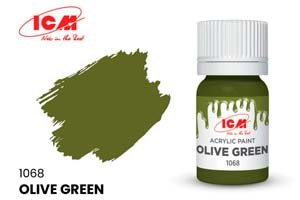 MODEL KIT CREATIVE PAINT OLIVE (OLIVE GREEN) | КРАСКА ДЛЯ ТВОРЧЕСТВА ОЛИВКОВЫЙ (OLIVE GREEN) *СБОРНАЯ МОДЕЛЬ