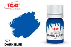 MODEL KIT CREATIVE PAINT DARK BLUE | КРАСКА ДЛЯ ТВОРЧЕСТВА ТЁМНО-СИНИЙ (DARK BLUE) *СБОРНАЯ МОДЕЛЬ