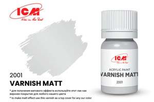 MODEL KIT VARNISH MATT | ЛАК МАТОВЫЙ (VARNISH MATT) *СБОРНАЯ МОДЕЛЬ