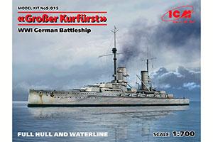 MODEL KIT GERMAN LINEAR SHIP