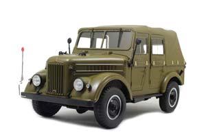 GAZ-69 (USSR RUSSIA) 1962 DARK GREEN | ГАЗ-69