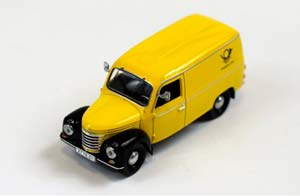 IFA FRAMO V901/2 WAGON DDR POST 1954 YELLOW/BLACK