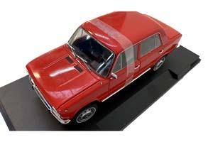 SEAT 124 VAZ 2101 LADA (USSR CAR) 1969 RED (БРАК)   ВАЗ 2101 ЖИГУЛИ (СЕАТ 124) ЛАДА KОПЕЙКА