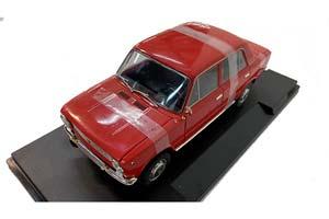 VAZ 2101 LADA 1200 (USSR RUSSIA) 1971 RED (БРАК)   ВАЗ 2101 ЖИГУЛИ ЛАДА КОПЕЙКА
