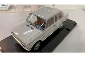 FIAT 124 VAZ 2101 LADA (USSR CAR) 1970 WHITE (БРАК)   ВАЗ 2101 ЖИГУЛИ (ФИАТ 124) ЛАДА KОПЕЙКА