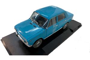 VAZ 2101 LADA (USSR CAR) 1971 LIGHT BLUE (БРАК)   ВАЗ 2101 ЖИГУЛИ ЛАДА KОПЕЙКА