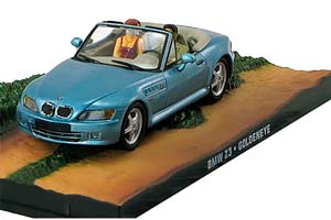 BMW Z3 GOLDEN EYE 1995 LIGHT BLUE