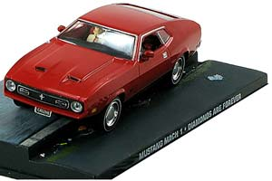 FORD MUSTANG MACH I DIAMONDS ARE FOREVER 1971 RED