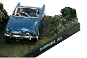 Sunbeam Alpine Dr. No 1962 Blue