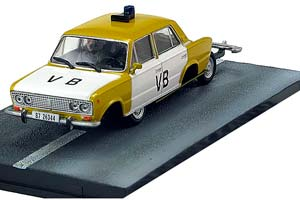 Lada 1500 Police Car The Living DayLights 1987 Yellow/White