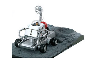 MOON BUGGY DIAMOND ARE FOREVER 1971 SILVER